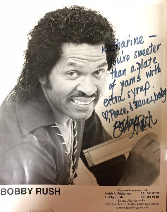 Bobby Rush signed head shot